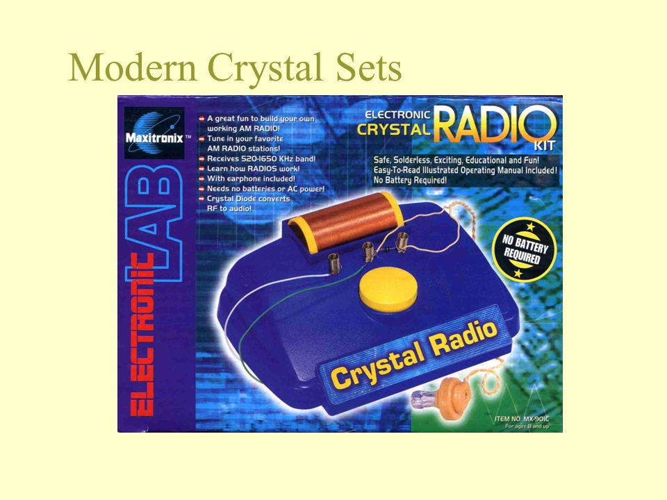 Modern Crystal Sets 5