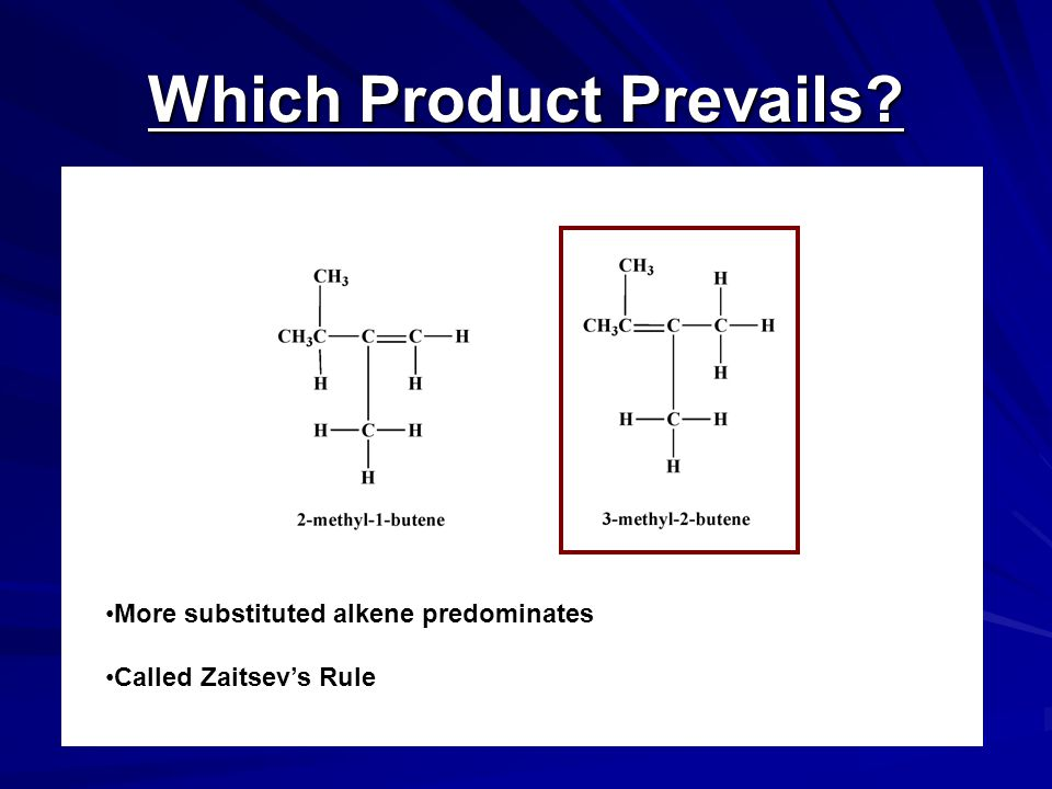 Which Product Prevails