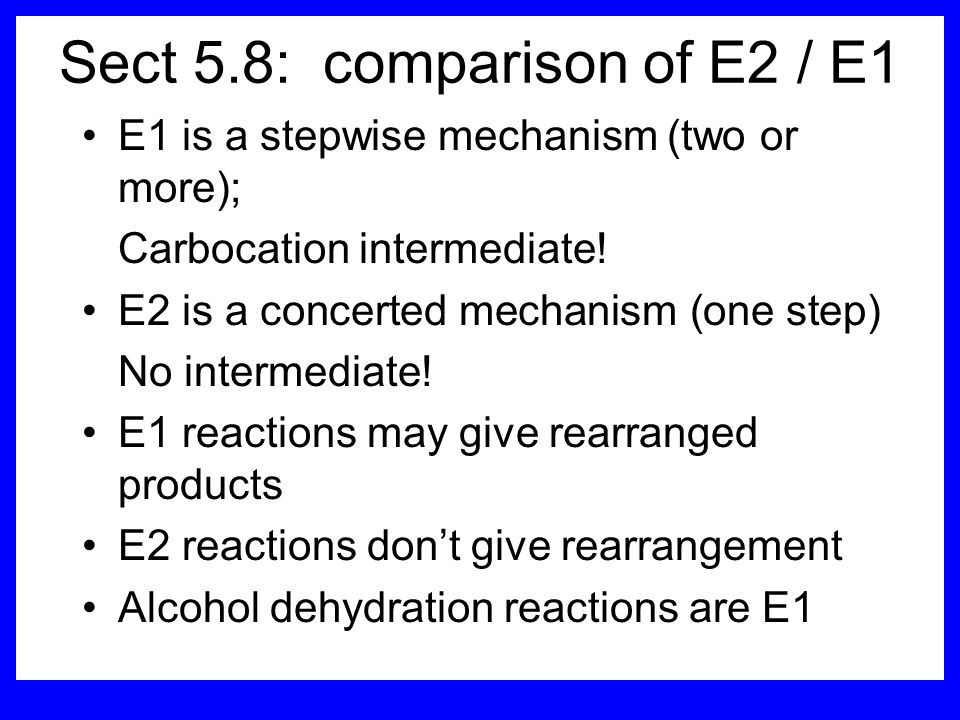 Sect 5.8: comparison of E2 / E1