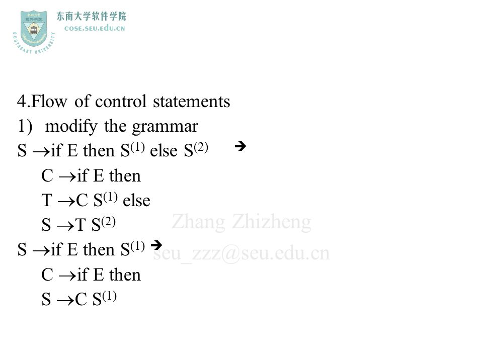 4.Flow of control statements