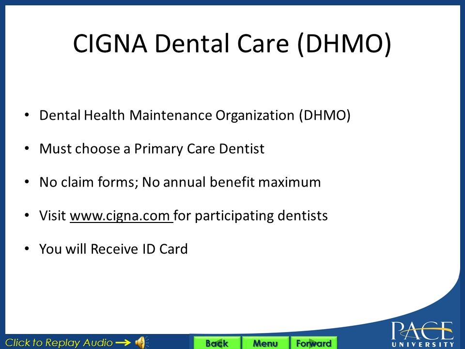 CIGNA Dental Care (DHMO)