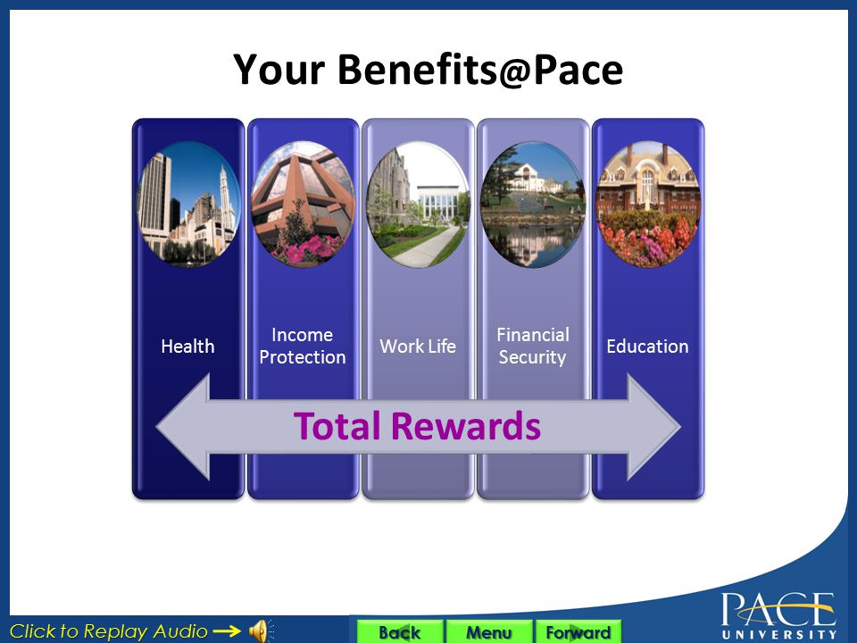 Your Benefits@Pace Total Rewards Health Income Protection Work Life