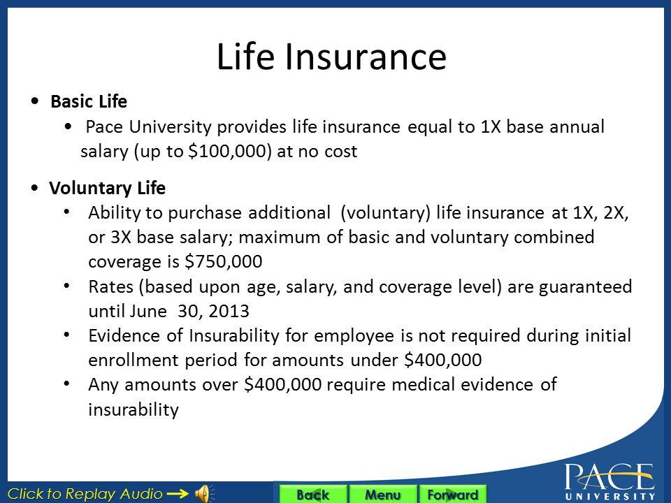 Life Insurance Basic Life