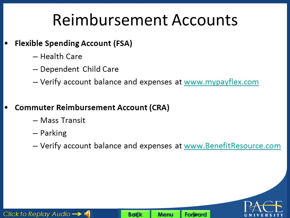 Reimbursement Accounts