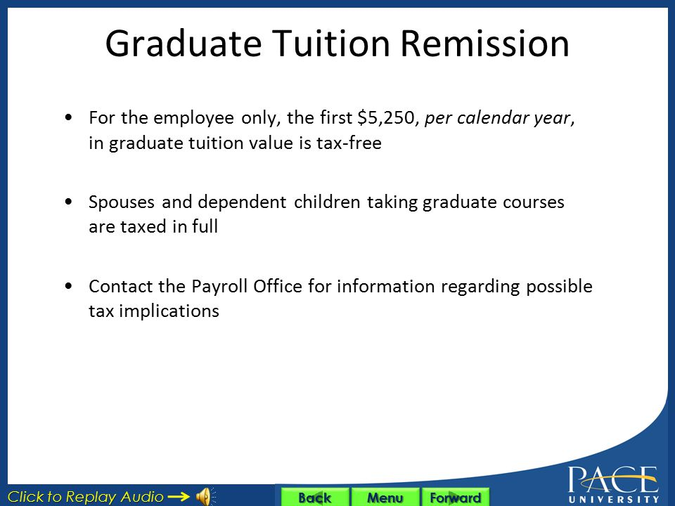 Graduate Tuition Remission