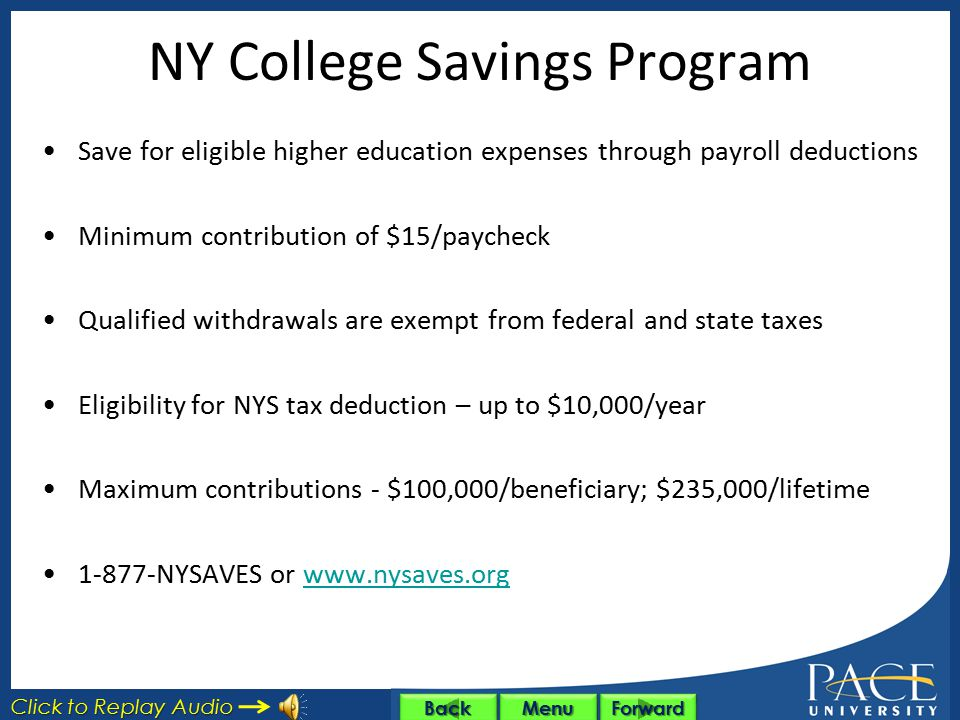 NY College Savings Program