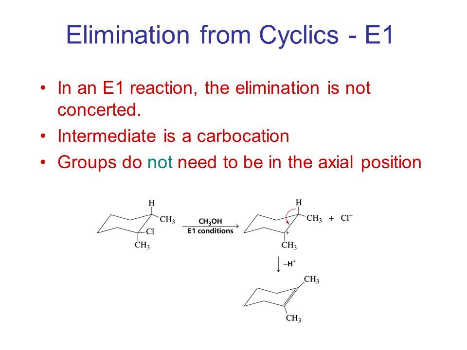 Elimination from Cyclics - E1