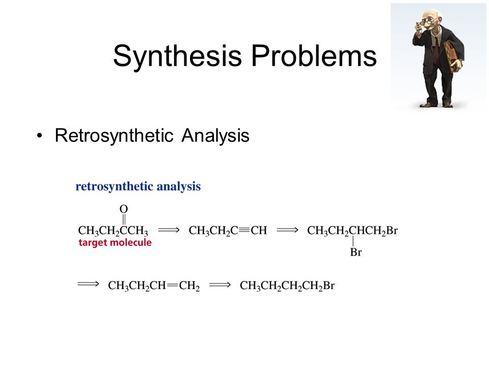 Synthesis Problems Retrosynthetic Analysis