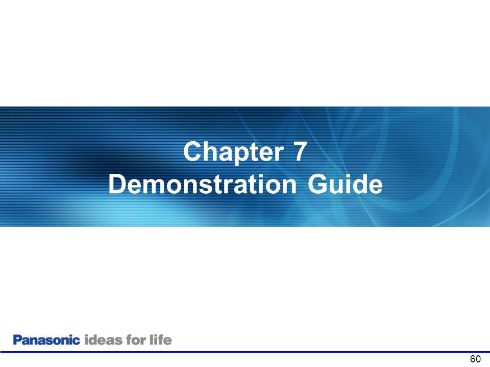 Chapter 7 Demonstration Guide