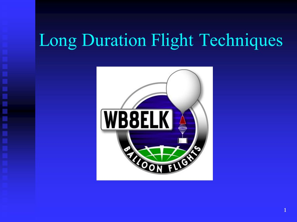Long Duration Flight Techniques