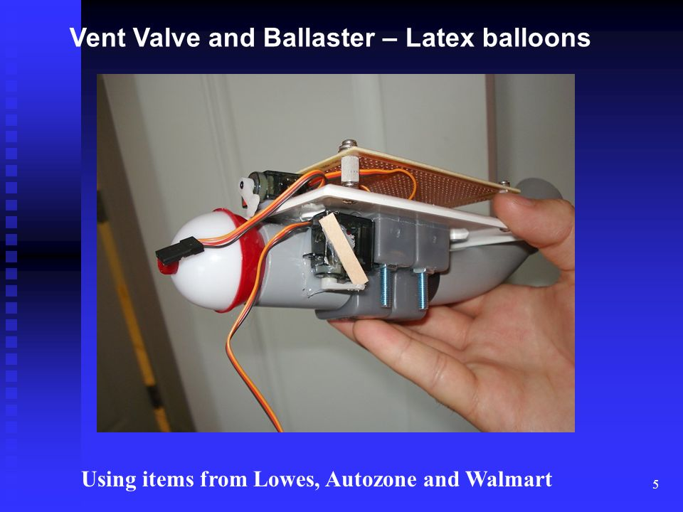 Vent Valve and Ballaster – Latex balloons