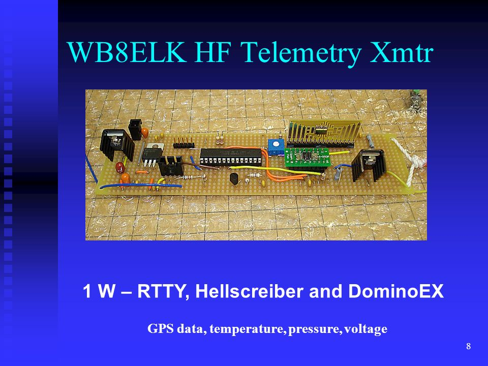 WB8ELK HF Telemetry Xmtr