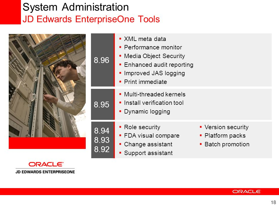 System Administration JD Edwards EnterpriseOne Tools