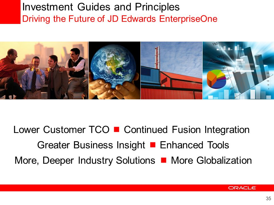 Investment Guides and Principles Driving the Future of JD Edwards EnterpriseOne