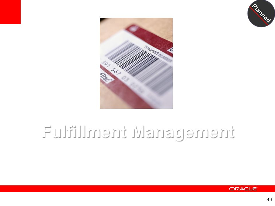Fulfillment Management A New JD Edwards EnterpriseOne Module