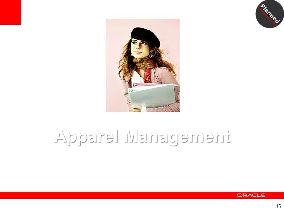 Apparel Management A New JD Edwards EnterpriseOne Module