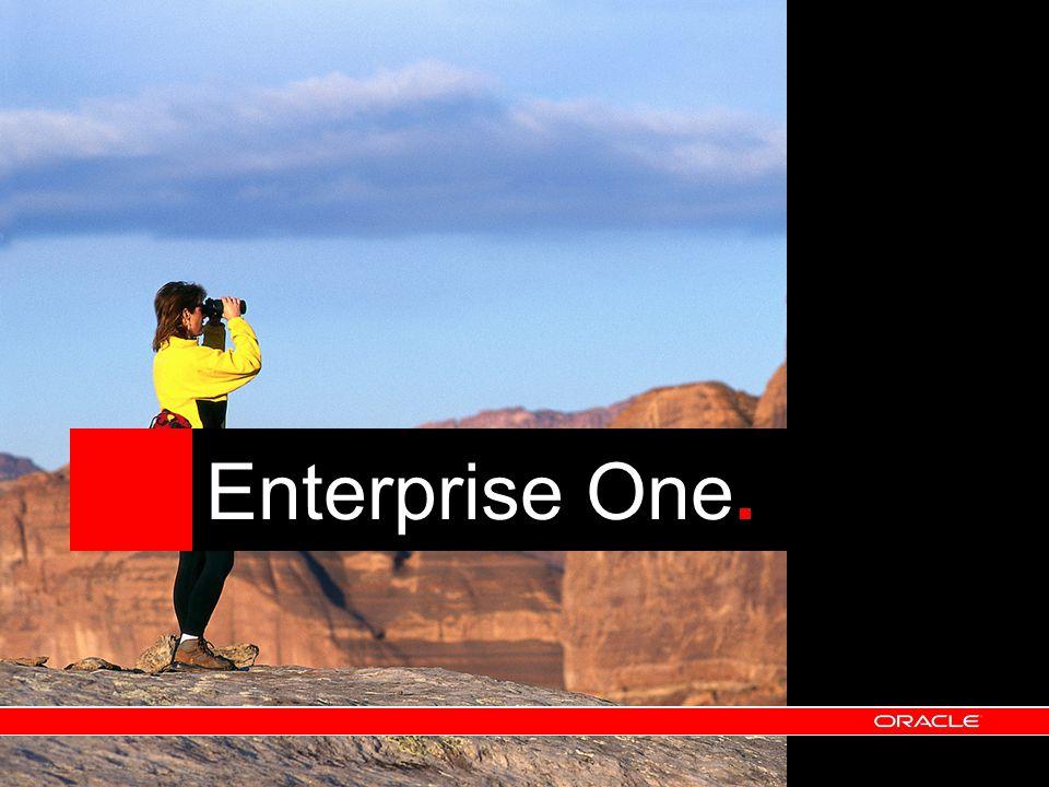 JD Edwards EnterpriseOne and JD Edwards World