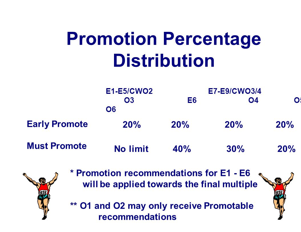 Promotion Percentage Distribution