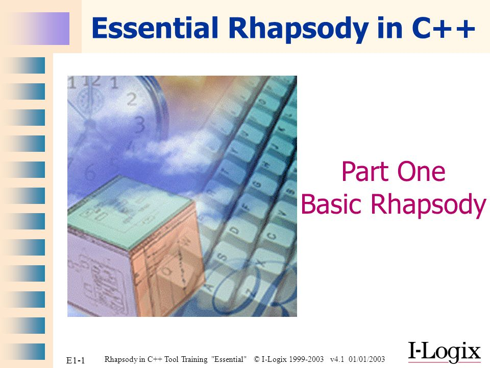 Essential Rhapsody in C++