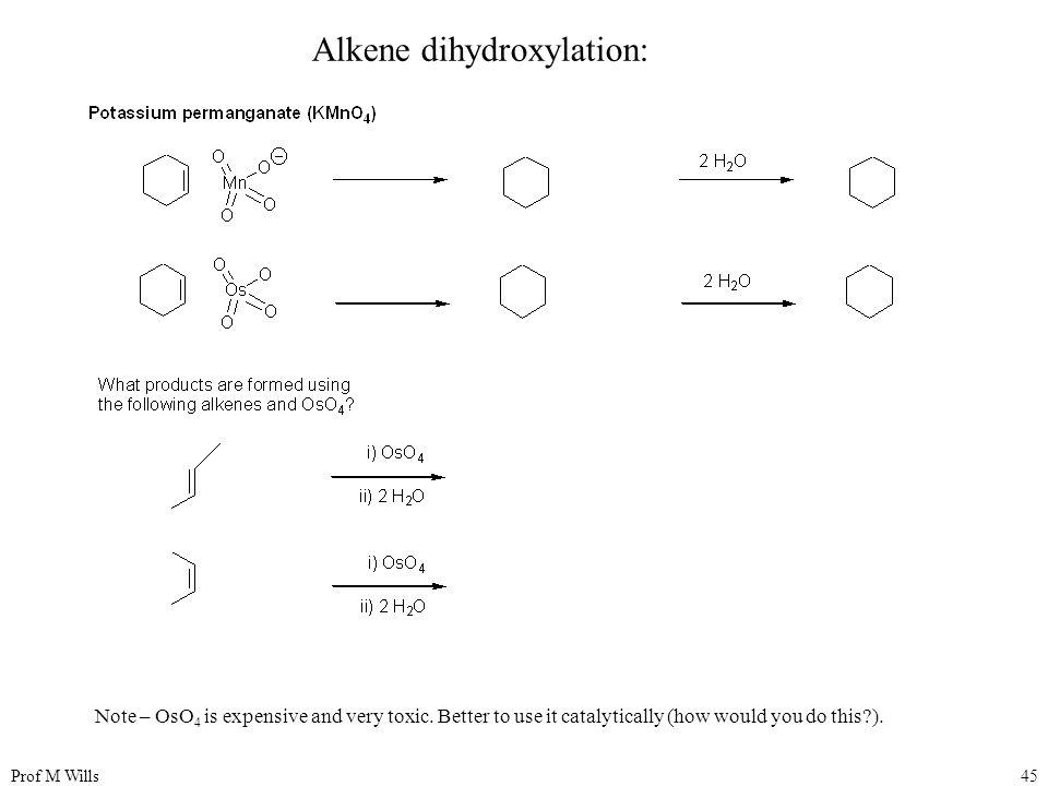 Alkene dihydroxylation: