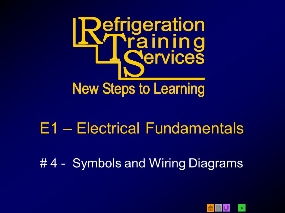 E1 – Electrical Fundamentals