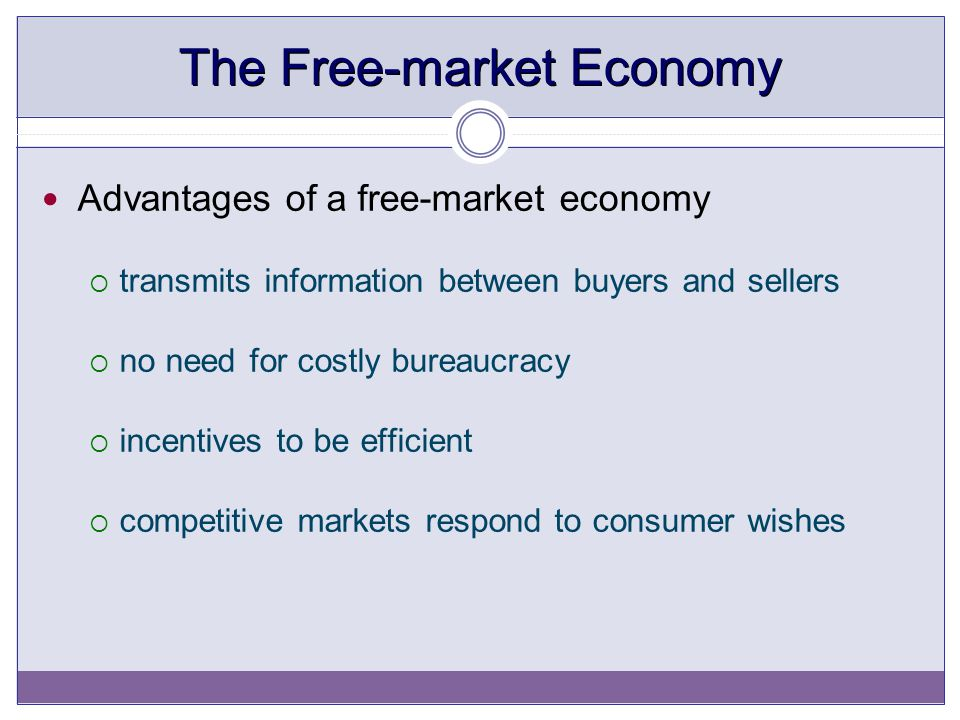 The Free-market Economy