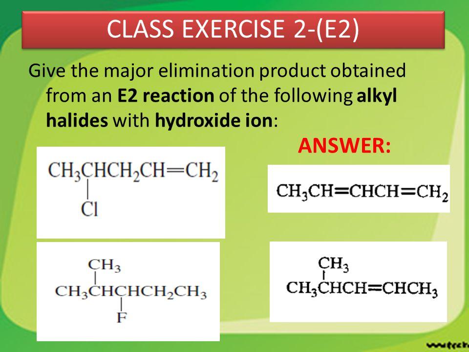 CLASS EXERCISE 2-(E2) ANSWER:
