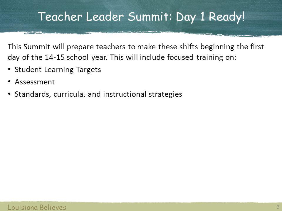 Teacher Leader Summit: Day 1 Ready!