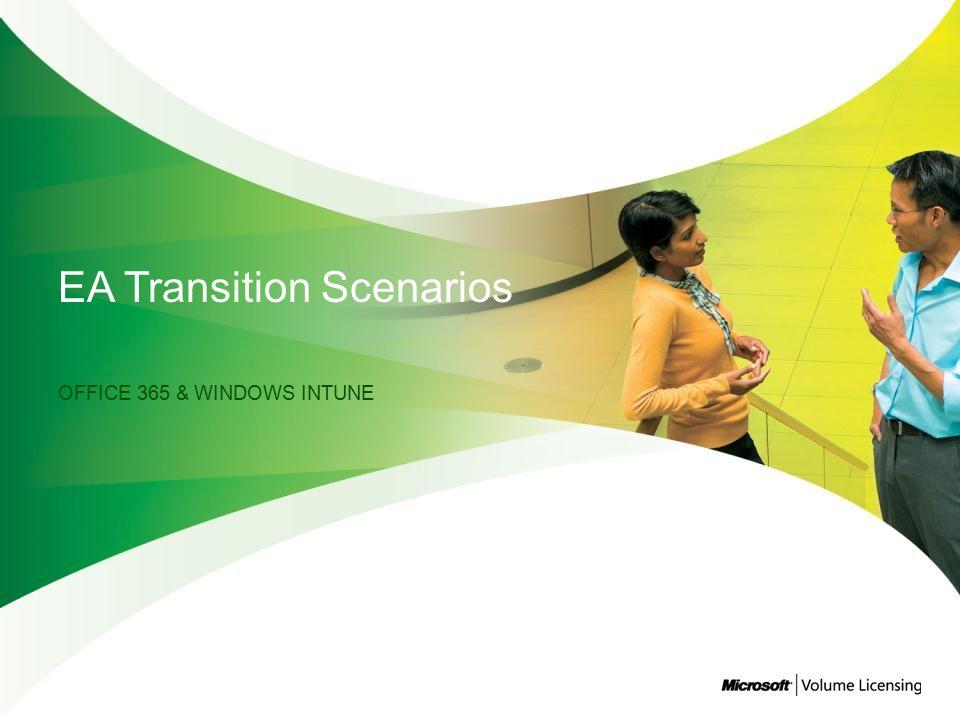 EA Transition Scenarios