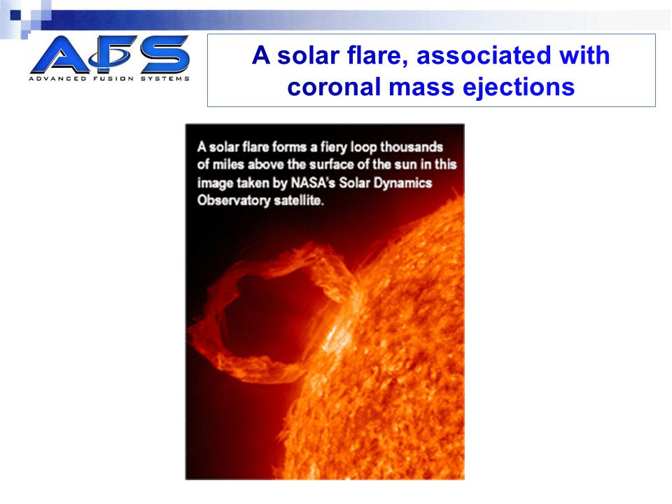 A solar flare, associated with coronal mass ejections
