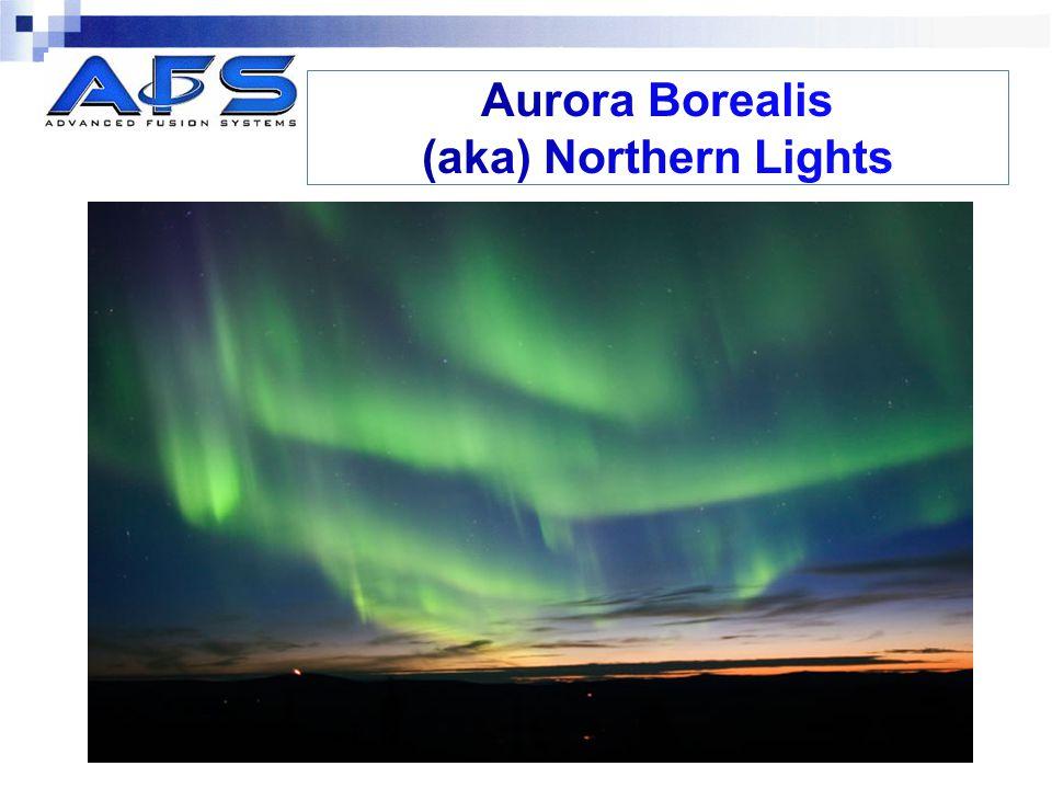 Aurora Borealis (aka) Northern Lights