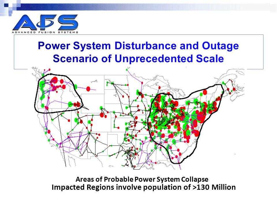 Power System Disturbance and Outage Scenario of Unprecedented Scale