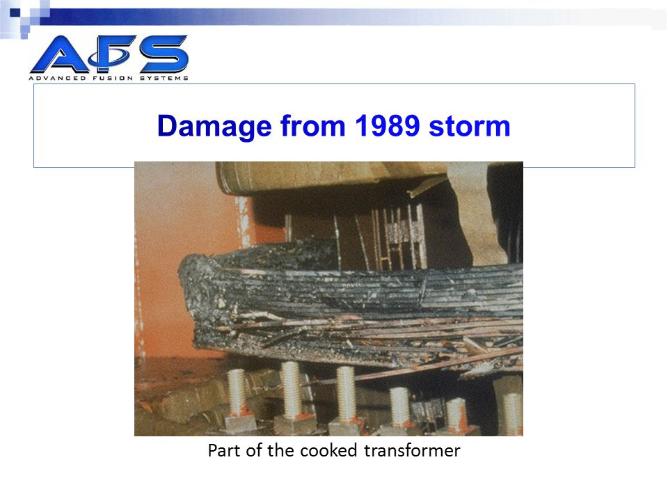 Part of the cooked transformer