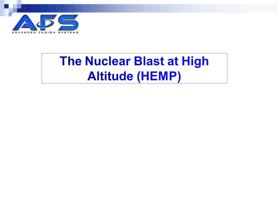 The Nuclear Blast at High Altitude (HEMP)