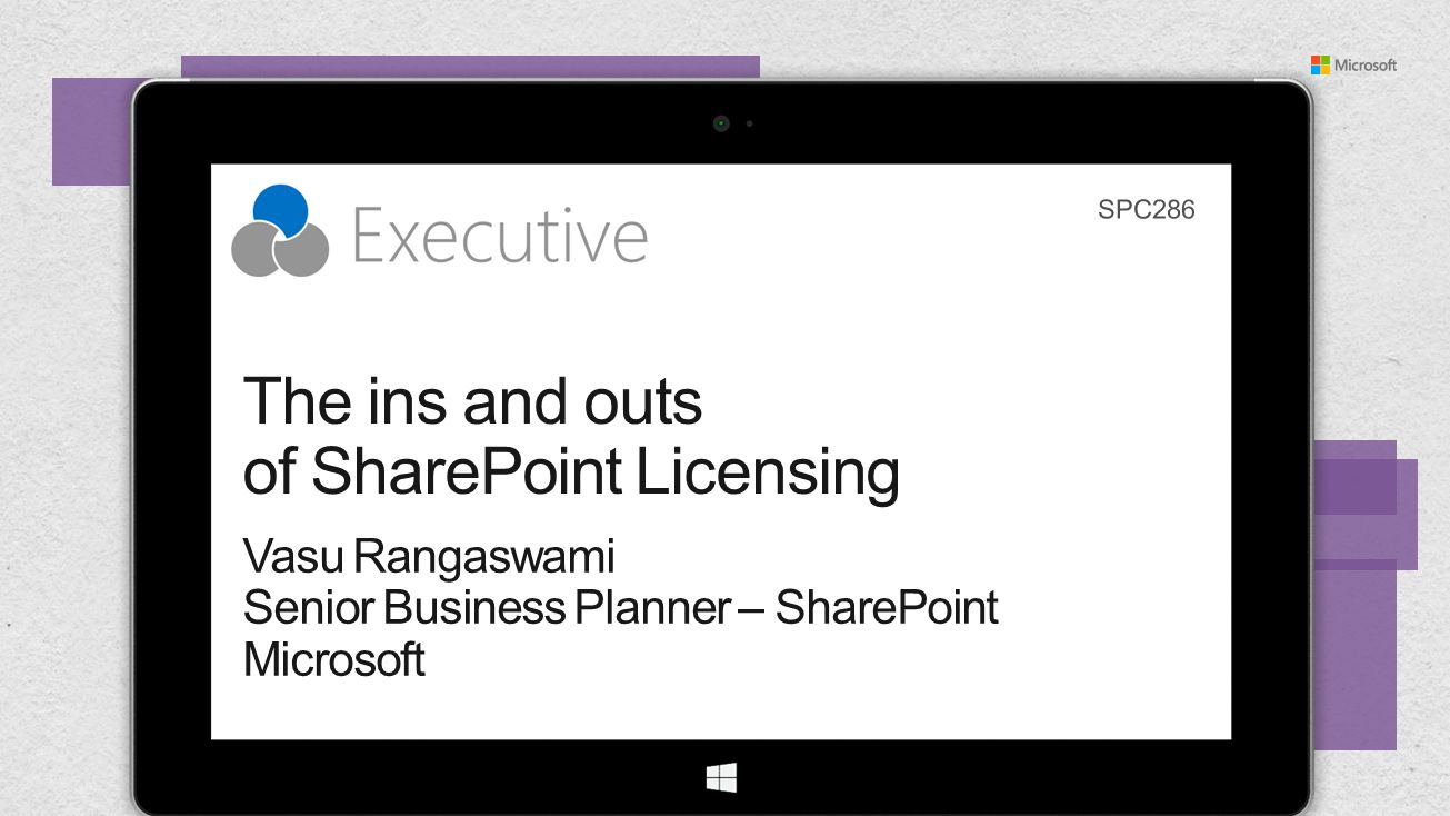 The ins and outs of SharePoint Licensing