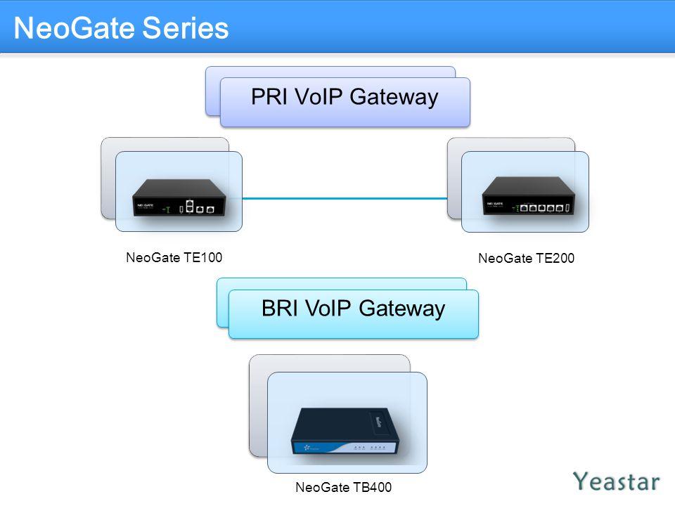 NeoGate Series PRI VoIP Gateway BRI VoIP Gateway NeoGate TE100