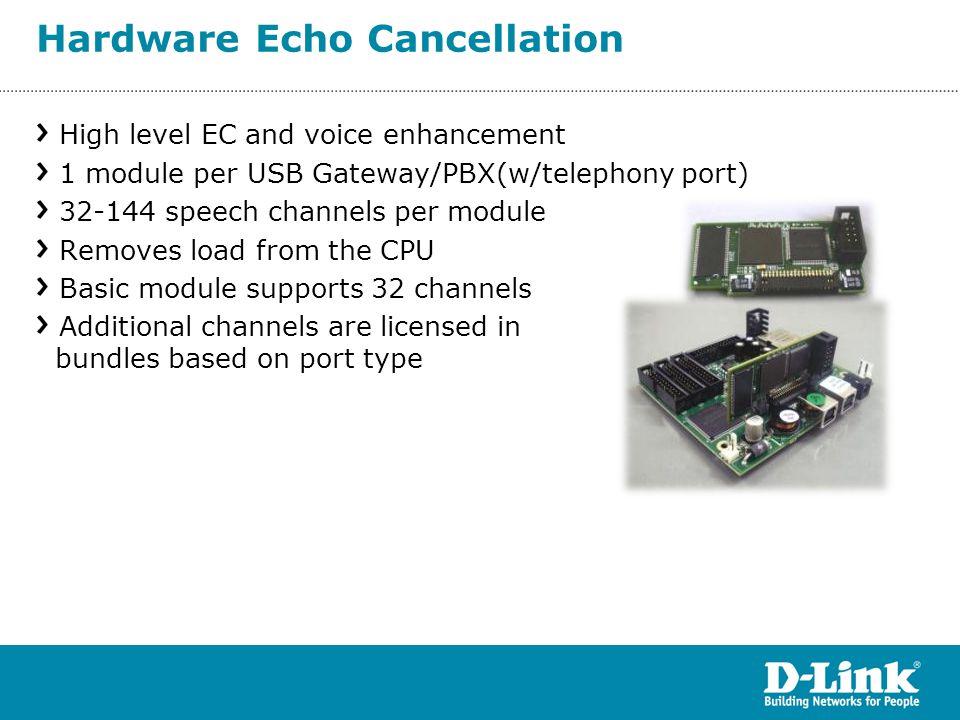 Hardware Echo Cancellation