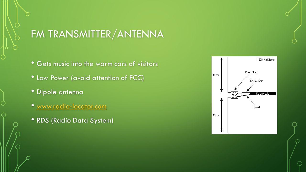 FM Transmitter/Antenna