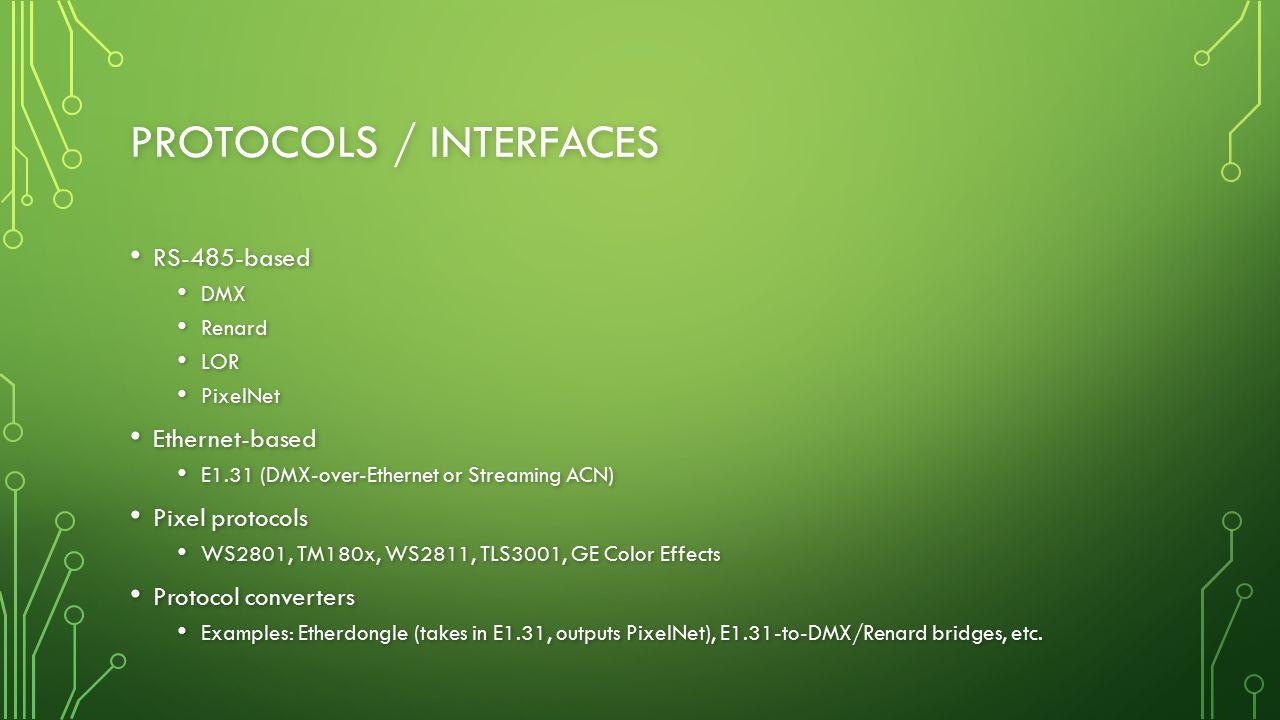 Protocols / Interfaces