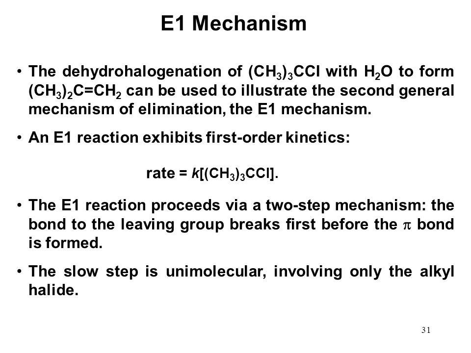 E1 Mechanism