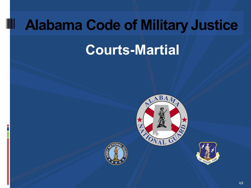 Alabama Code of Military Justice