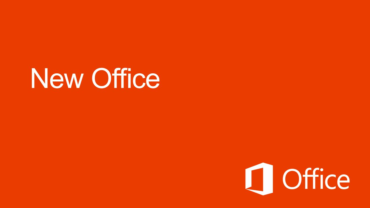 New Office Microsoft Office 4/11/2017 <speaker notes>