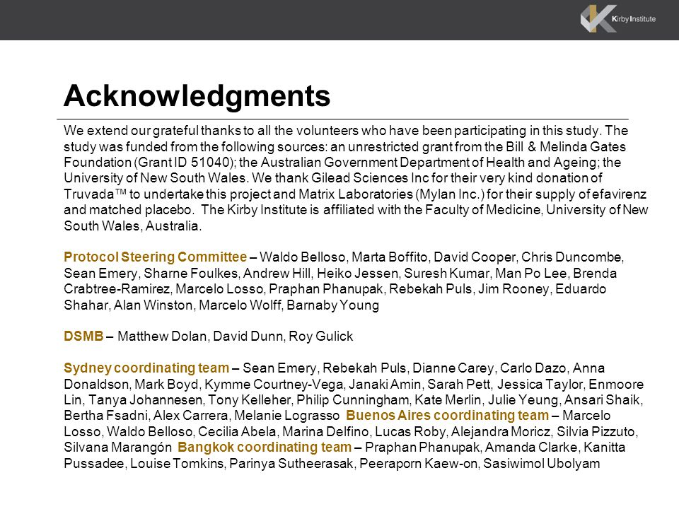 Acknowledgments We extend our grateful thanks to all the volunteers who have been participating in this study.