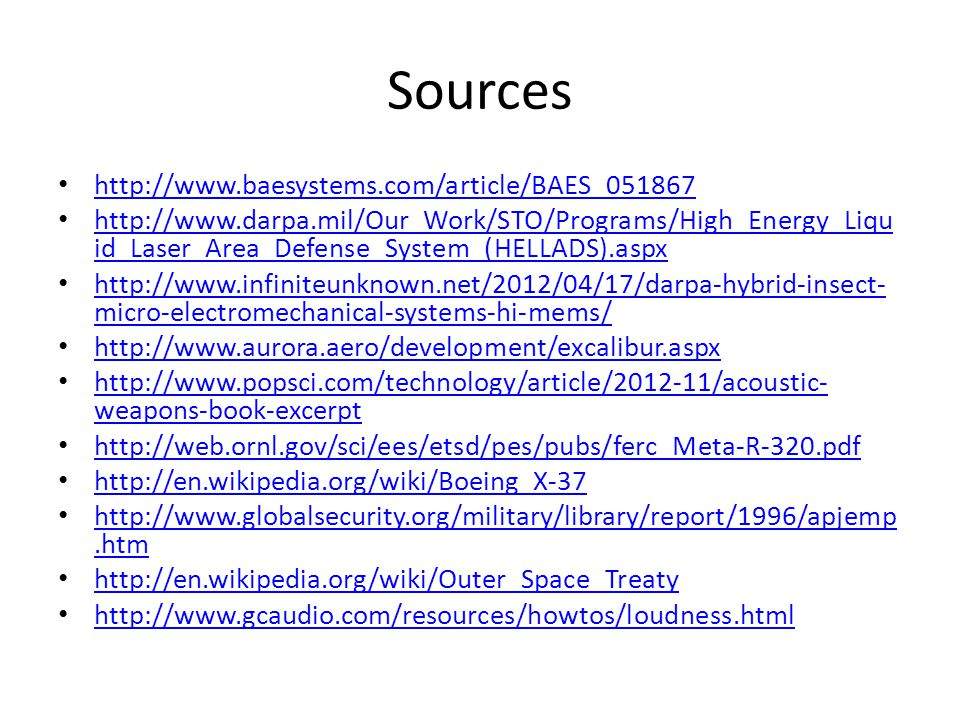 Sources http://www.baesystems.com/article/BAES_051867