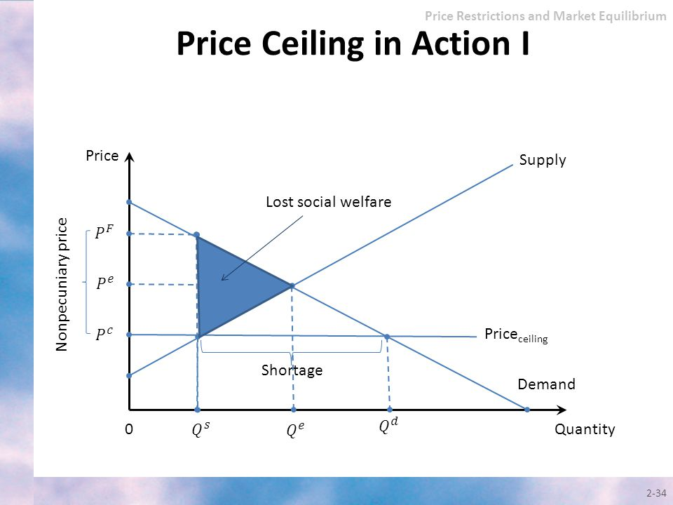 Price Ceiling in Action I