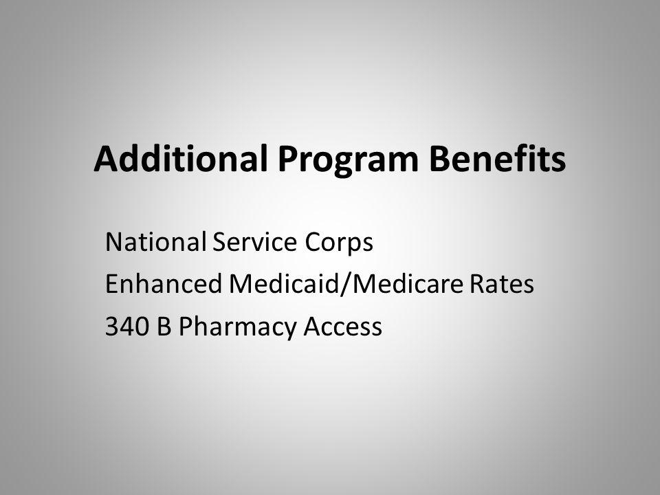 Additional Program Benefits