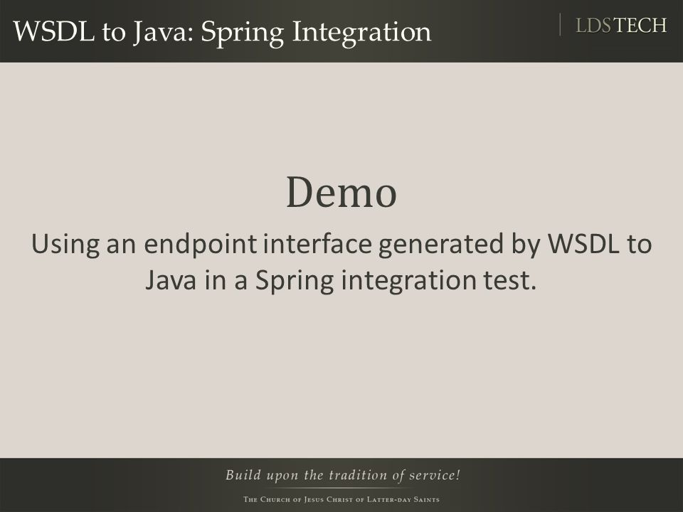 WSDL to Java: Spring Integration