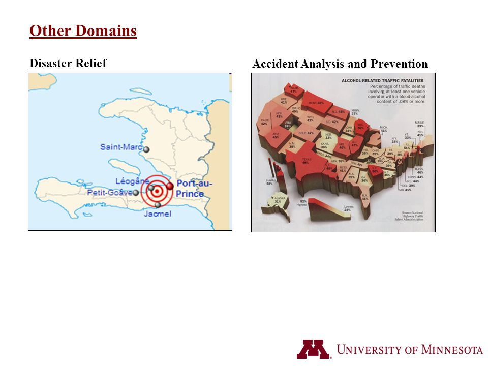 Other Domains Disaster Relief Accident Analysis and Prevention