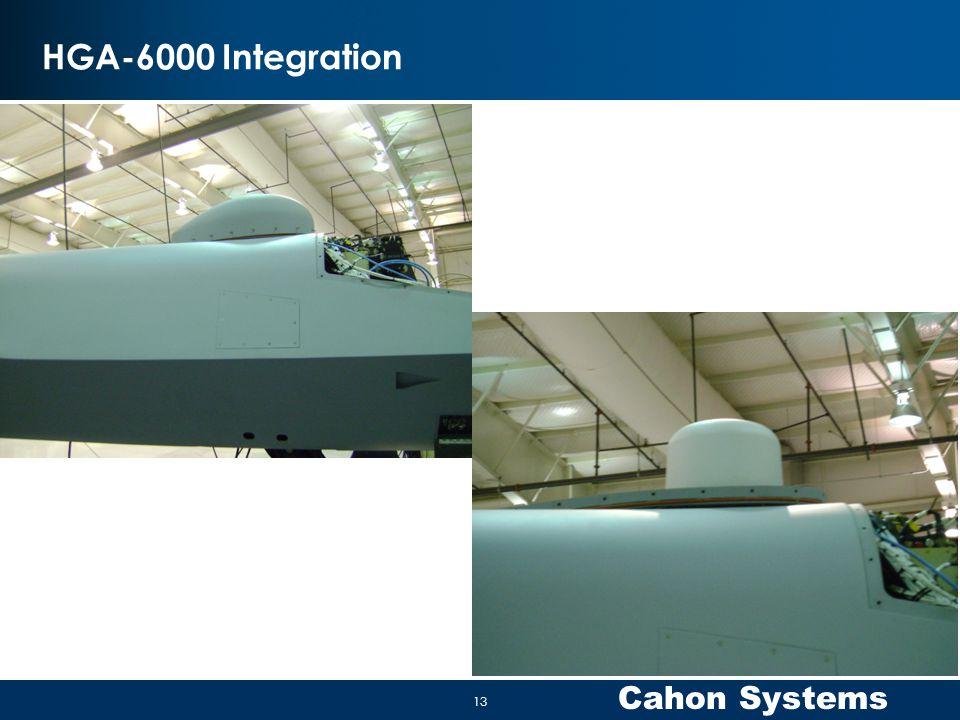 HGA-6000 Integration 13