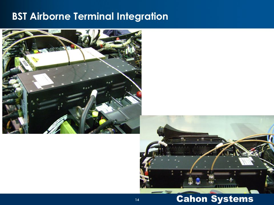 BST Airborne Terminal Integration